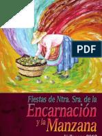 Fiestas de Valleseco Programa 2012