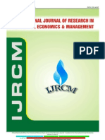 3. July 2012-International Journal of Research in Commerce, Economics & Management