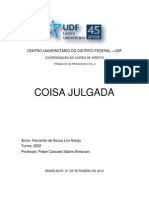 COISA JULGADA - FERNANDO DE SOUSA LIRA ARAÚJO