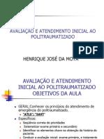 Direto - AVALIA¦+O E ATENDIMENTO INICIAL AO POLITRAUMATIZADO refeito