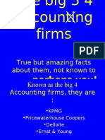 Shocking Facts About Big 4 Accounting Firms