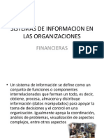Sistemas de Informacion en Las Organizaciones