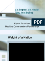 Media and the Influence on Health and Wellbeing (2)