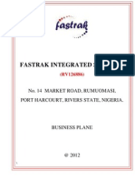 Fastrak Integrated Services Vtn Marketing Plan