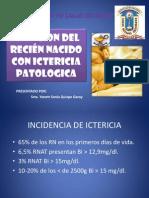 ATENCION DEL RECIÉN NACIDO CON ICTERICIA PATOLOGICA