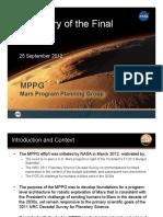Mars Program Planning Group