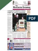 Manchester Enterprise Front Page Sept. 27, 2012