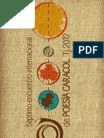 Memoria del 7 Encuentro Internacional de Poesía Caracol Tijuana 2012