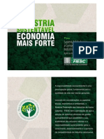 FIESC - Plano Sustentabilidade Para A Competitividade da Indústria Catarinense