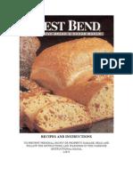 West Bend Breadmaker 41080 Recipes