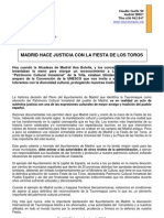 Madrid Hace Justicia Con La Fiesta