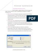 Funciones de Bases de Datos - Excel