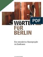 Präsentation Wörter für Berlin