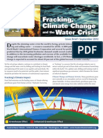 Fracking, Climate Change and the Water Crisis