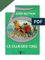 Blyton Enid Le Club Des Cinq 2b Le Club Des Cinq Nouveaux Dessins 1943