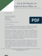 Carta Gobernador Ago 9 2012