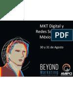 Marketing y Redes Sociales AMIPCI 2012-Prensa
