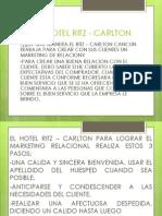 Caso Hotel Ritz - Carlton