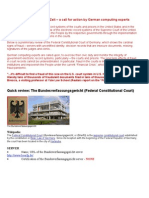 12 09 26 Preliminary review of the German Federal Constitutional Court electronic records