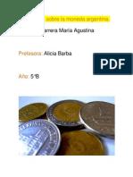 Monografía sobre la moneda argentina