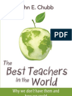 The Best Teachers in the World, by John E. Chubb
