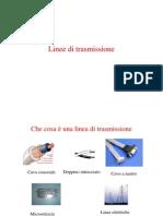 Linee di trasmissione