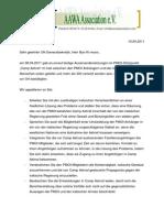 Offener Brief an Ban Ki-moon - 15.04.2011
