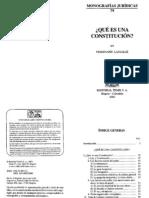 Monografias Juridicas T079 Que Es La Constitucion