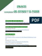 ENLACES TEORÍAS DEL  ESTADO Y EL PODER