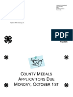 County Medals Application 2012