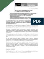 Misión de la OEA analizará avances del Perú en la lucha contra la corrupción