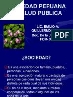 Sociedad y Salud Publica