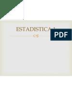 Estadistica 1 Segunda Clase