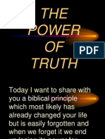 The Power of Truth ODCF Sept 23 2012
