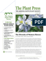 November 2008 The Plant Press ~ Arizona Natiave Plant Soceity