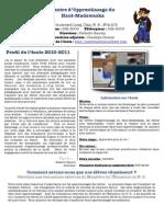 Profil d'école 20112012 du CAHM