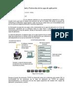 Funcionalidad y protocolos de la capa de aplicación
