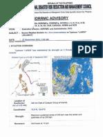NDRRMC SWB No. 25-A Re Typhoon Lawin