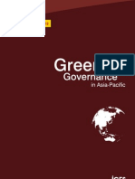 Greening Governance in Asia-Pacific