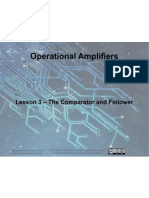 Op Amps - Lesson 3 - Comparator and Follower