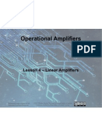 Op Amps - Lesson 4 - Linear Amplifiers