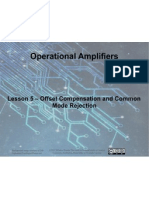 Op Amps - Lesson 5 - Compensation and CMRR