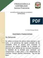 Analisis Economico Empresarial Razones Financieras