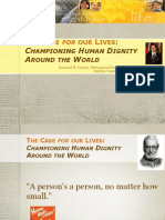 The Case for Our Lives Championing Life and Human Dignity in the Caribbean