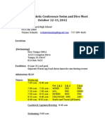 2012 Conference Sheet -Host