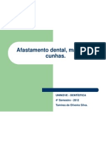 Afastamento Dental