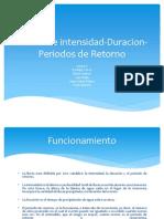 Curvas de Intensidad-Duracion-Periodos de Retorno