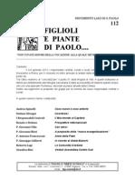 FIGLIOLI E PIANTE DI PAOLO...no. 112 settembre 2012