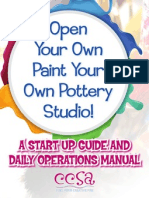 Open Your Own Paint Your Own Pottery Studio!
