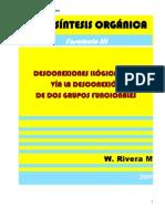 DESCONEXIONES ILÓGICAS C-C, VÍA LA DESCONEXIÓN DE DOS GRUPOS FUNCIONALES